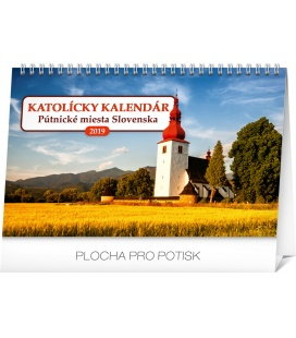Table calendar Catholic calendar SK 2019