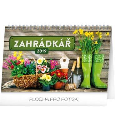 Table calendar Gardening 2019