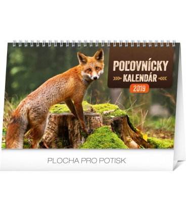 Table calendar Hunting SK 2019