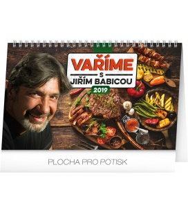 Stolní kalendář Vaříme s Jiřím Babicou 2019