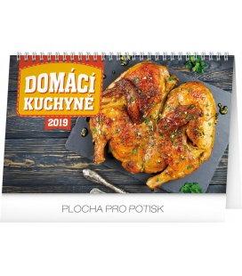 Table calendar Home Cookbook 2019