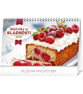 Stolní kalendář Múčniky a sladkosti SK 2019