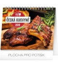 Table calendar Czech cuisine 2019