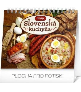 Stolní kalendář Slovenská kuchyňa SK 2019