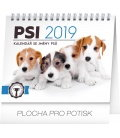 Table calendar Dogs – with dog names 2019