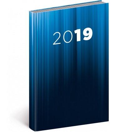 Daily diary A5 Cambio blue 2019