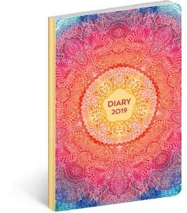 Weekly diary B6 ultralight Mandala 2019