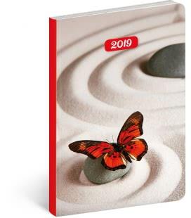 Weekly diary B6 ultralight Zen 2019