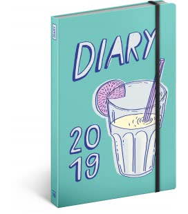 Weekly diary A5 Studio Tabletters 2019