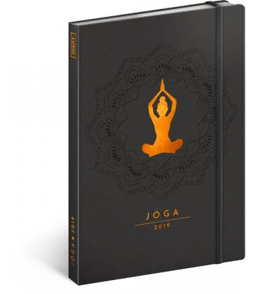 Weekly diary A5 Yoga 2019