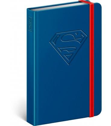 Notebook pocket Superman – Logo, lined 2019