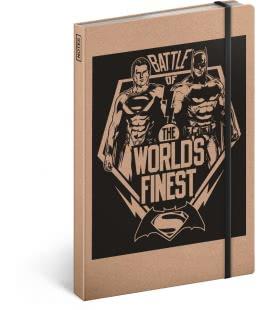 Notizbuch A5 Batman v Superman – Battle, liniert 2019