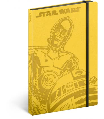 Notebook A5 Star Wars – Droids, lined 2019