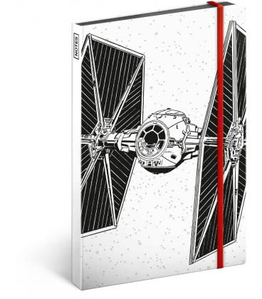 Notebook A5 Star Wars – Tie, lined 2019