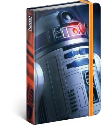 Notebook pocket Star Wars – Blue, lined 2019