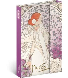 Notebook pocket Alphonse Mucha - La Dame, lined 2019