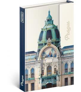 Notebook pocket Praha – Libero Patrignani, lined 2019