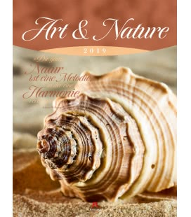 Wall calendar Art & Nature 2019