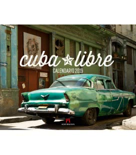 Nástěnný kalendář Cuba Libre 2019
