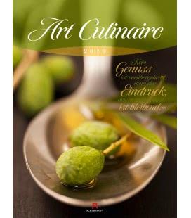 Wall calendar Art Culinaire 2019