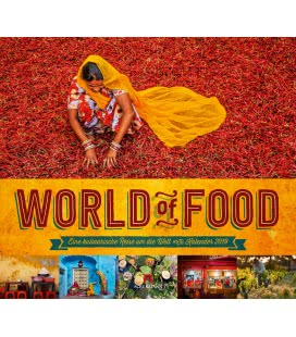 Wall calendar World of Food 2019