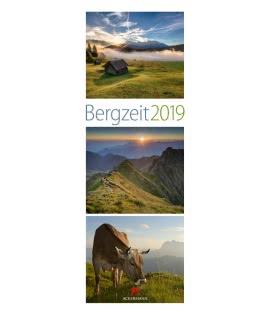 Wall calendar Bergzeit 2019