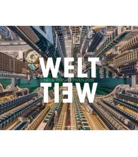 Nástěnný kalendář Svět - Pohled z perspektivy dronů / WeltWeit – Die Welt aus der Drohnen