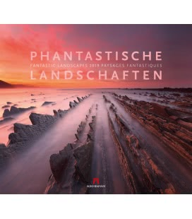 Nástěnný kalendář Fantastické krajiny / Phantastische Landschaften 2019