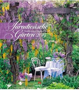 Nástěnný kalendář Rajské zahrady / Paradiesische Gärten 2019