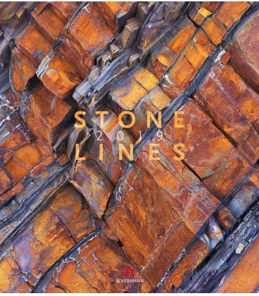 Wall calendar Stonelines 2019