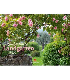 Wall calendar Zauberhafte Landgärten 2019