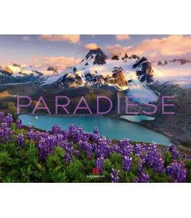 Wall calendar Geheime Paradiese 2019
