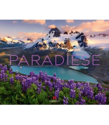 Nástěnný kalendář Tajemné ráje / Geheime Paradiese 2019