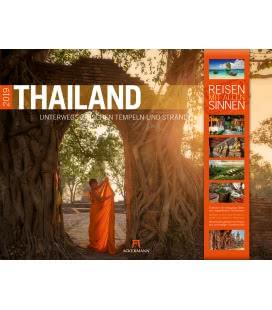 Wandkalender Thailand 2019