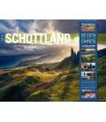 Nástěnný kalendář Skotsko / Schottland 2019