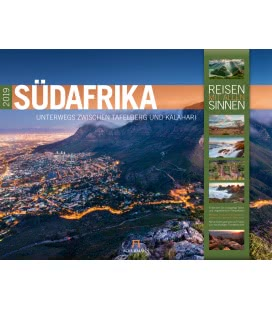 Wall calendar Südafrika 2019