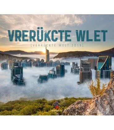 Wall calendar Verrückte Welt 2019