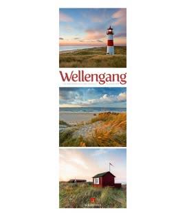 Wandkalender Wellengang – Meeres-Triplets 2019