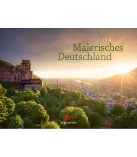 Wandkalender Malerisches Deutschland 2019