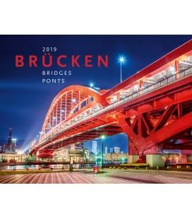Wandkalender Brücken 2019