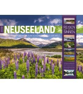 Wall calendar Neuseeland 2019