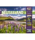 Nástěnný kalendář Nový Zéland / Neuseeland 2019