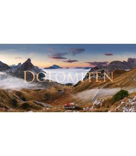 Nástěnný kalendář Dolomity / Dolomiten 2019