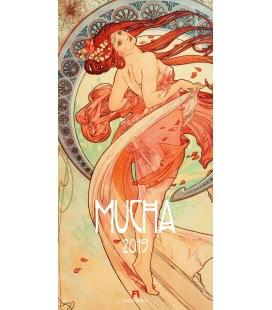 Wall calendar Alfons Mucha 2019