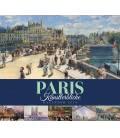 Wall calendar Paris – Künstlerblicke 2019