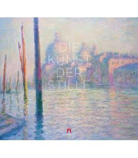 Nástěnný kalendář Umění ticha - Art of Silence / Die Kunst der Stille 2019
