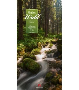 Wandkalender Mythos Wald 2019