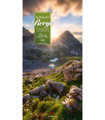 Nástěnný kalendář Kouzlo hor / Im Bann der Berge 2019