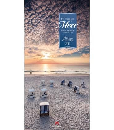 Nástěnný kalendář Sny o moři / Der Traum vom Meer 2019