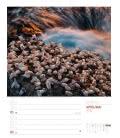 Wall calendar Island – Wochenplaner 2019